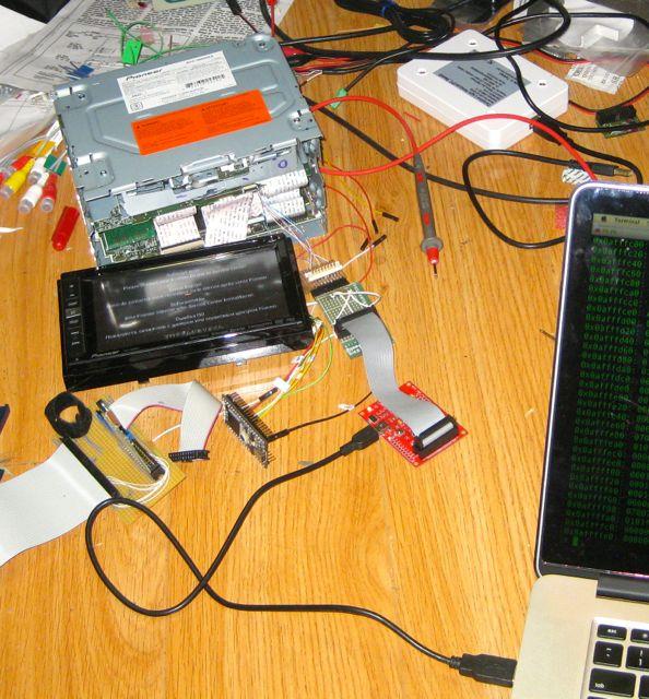 fail0verflow :: Enhancing the AVIC-5000NEX